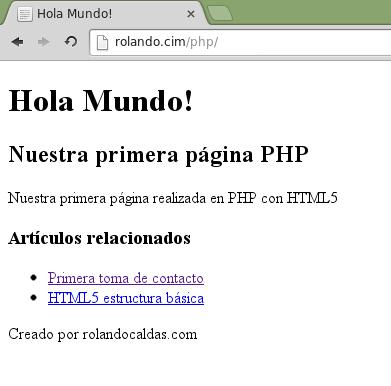 Html5 Y Su Estructura Básica Php Paso A Paso