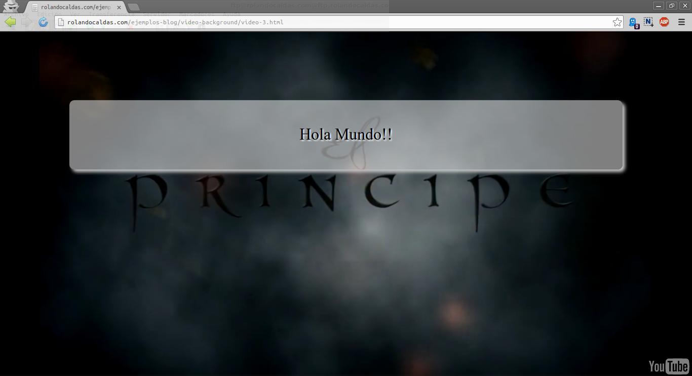 Ajustar imagen fondo de pantalla html